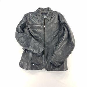 Joe Rocket  Motorcycle Riding Leather Jacket Coat